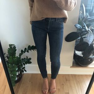 Anthropologie Pilcro High Rise Skinny Jeans